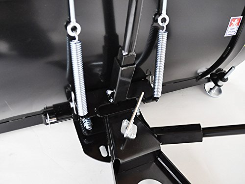 Schneeschild Ersatzteil f/ür//kompatibel mit Rasentraktor 100x40 John Deere X100 X 135R X 155R