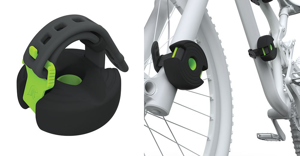 Bopworx Detachable Bop Bumper - Protects the Bike Frame and Bicycle Wheels During Transportation and Storage