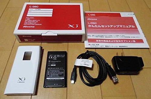 Mobile Wi-Fi ルーター L-09C(ホワイト)