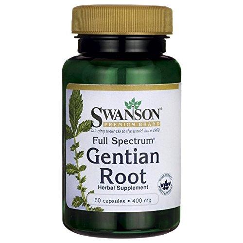 Cheap Swanson Full Spectrum Gentian Root 400 Milligrams 60 Capsules