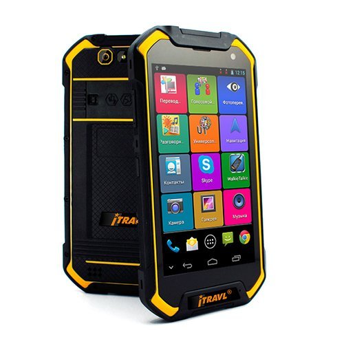 iTRAVL 2 English Chinese 2-way Voice Translator and Rugged World Travel Smartphone