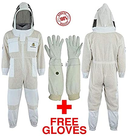 Bee Suits Traje de Abeja con Guantes Gratis Capa 3X ...