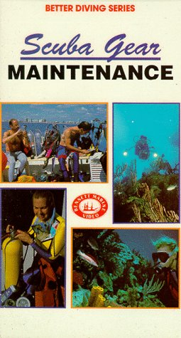 Scuba Gear Maintenance [VHS] (Scuba Gear Videos Books)