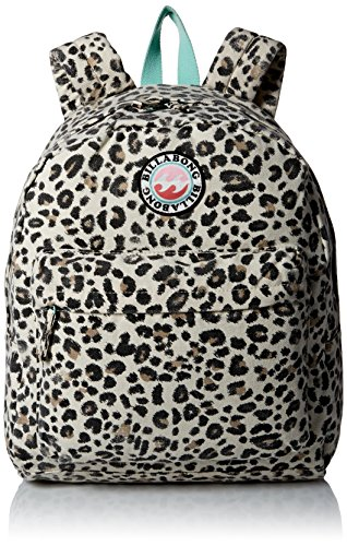 Billabong Girls' Play Date Canvas Back Pack, Cheetah
