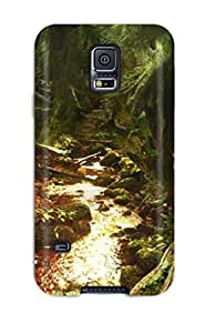 Premium Child Lost In The Jungle Heavy-duty Protection Case For Galaxy S5