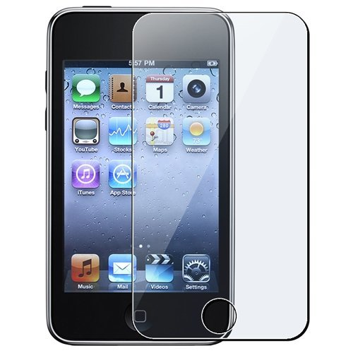 Insten Full Front LCD Screen Protector Compatible with Apple iPod touch 1st / 2nd / 3rd Gen Generation 3rd Generation Ipod