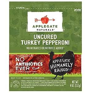Applegate, Natural Uncured Turkey Pepperoni, 4oz