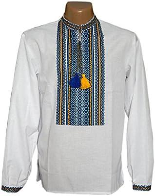 Bordado camisa con Ethnic ucraniano adornos. Folk vyshyvanka con tejidos bordado