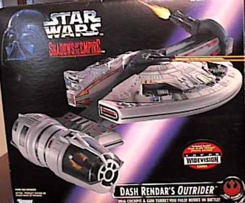 STAR WARS Dash Rendar's Outrider Vehicle  SHADOWS OF THE EMPIRE