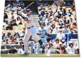 Matt Kemp Signed Autographed Major League Baseball Photo At bat White Uniform