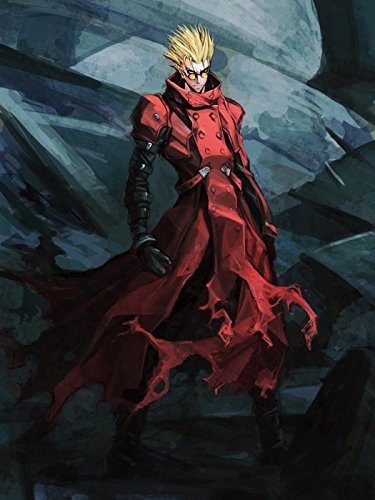WV2146 Vash The Stampede Trigun Painting Art Anime Manga Art 16x12 Print POSTER