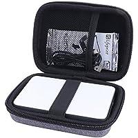 Hart Taschen Hülle für Canon Zoemini Mobiler Fotodrucker von Aenllosi (Grau)