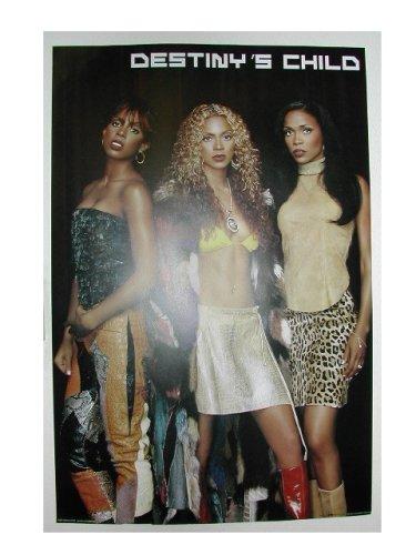 Destinys Child Poster Destiny's Beyonce Kelly Rowland