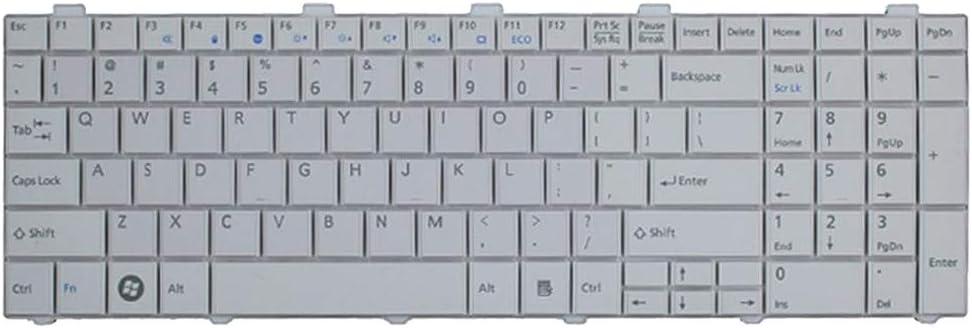 Gazechimp Repuesto Teclado Compatible con Laptop para Fujitsu ...