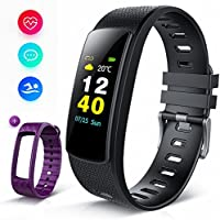 iWOWNfit Fitness Tracker Color Screen, i6HRC Smart Watch...