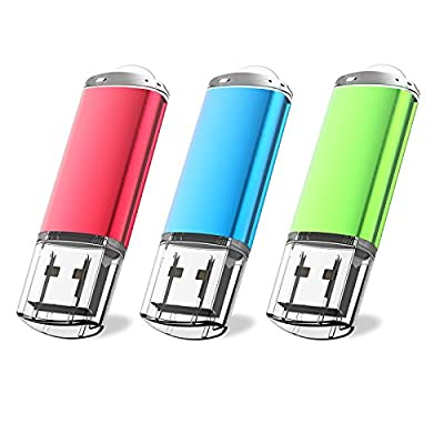 JUANWE USB Flash Drive USB 2.0 Thumb Drives Fold Storage Memory Stick Pen by JUANWE