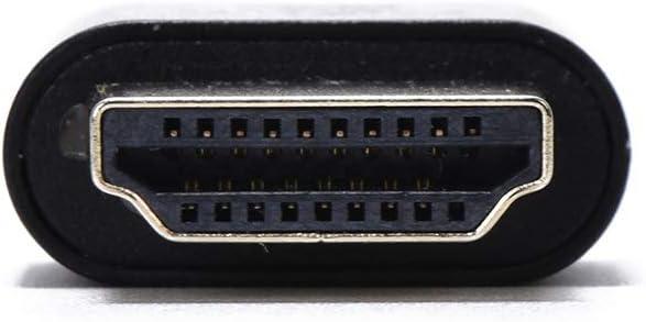 EVanlak HDMI Dvi Vga Dummy Plug Headless Ghost Display Emulator Premium Aluminum PC(Fit Headless-3840x2160@60H New 3RD)
