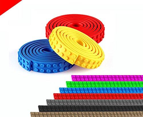 Toy Block cinta para bloques de construcción LEGO Block cinta Building Block Tape bricolaje bloque juguete 3,26pies...