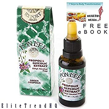 BRAZIL GREEN BEE PROPOLIS LIQUID EXTRACT ALCOHOL FREE - IMMUNITY BOOSTER