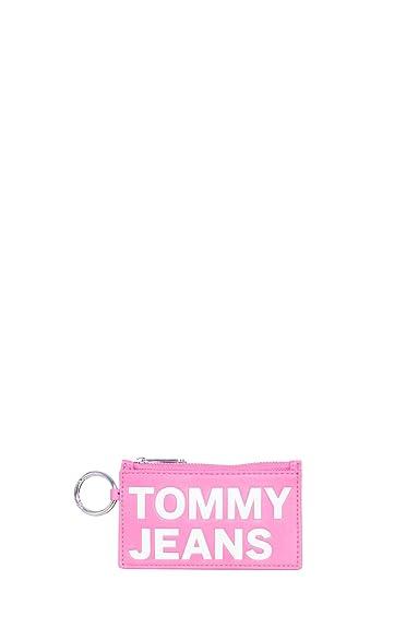 Tommy Hilfiger Tjw Femme Pouch Card Case Fuchsia Purple