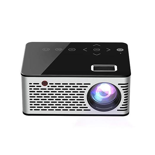 Rwdacfs Mini proyector hogar Micro LED TV móvil Cine en casa ...