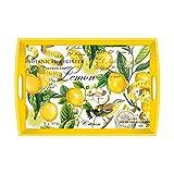 Michel Design Works Lemon Wooden Tray