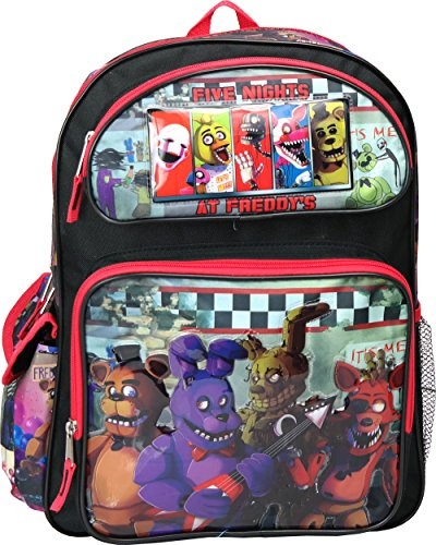 Five Nights at Freddy's Large Backpack 16'' inches School Book Bag by Freddy