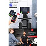 Sportstech-Vogatore-RSX500-Pieghevole-Controllo-Smartphone-Via-App-12-programmi-di-Allenamento-Cintura-cardiofrequenzimetro-da-3990E-Inclusa-16-Livelli-di-Resistenza