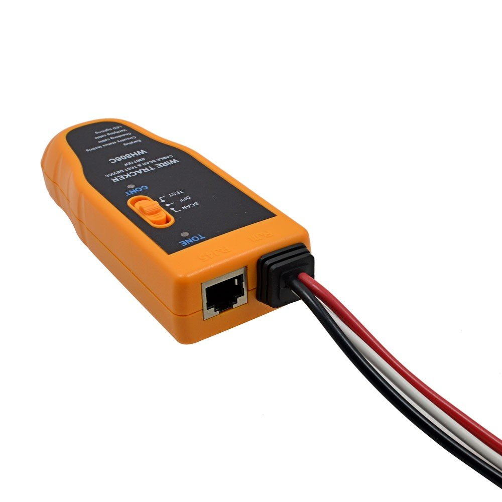 Amazon.com: Networking Tool WH806C Cable Tester Cat5 Cat6 RJ11 RJ45 Crimper Lan Wire Tracker Tester Diagnose Tone: Computers & Accessories