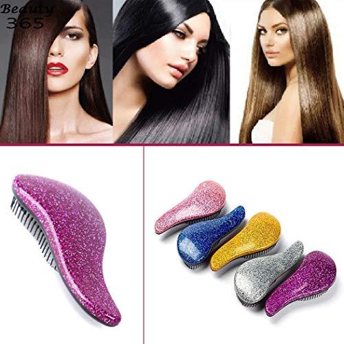 Liwei18 Detangling Brush - Detangler Massage Comb, Pain-Free Hair Brush Straightener That Removes Tangles and Knots Straightening Hair Shiny and Undamaged