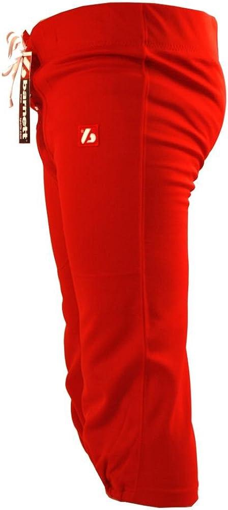 rojo barnett FP-2 Pantal/ón para f/útbol americano partido