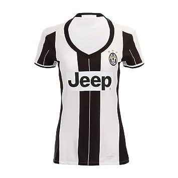 Women s New Season Juventu Paul Pogba Gianluigi Buffon Giorgio Chiellini  Claudio Marchisio Home Football Soccer Jersey In White  Amazon.co.uk   Sports   ... 8808b13af