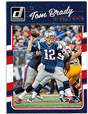 0382a09ea85 2016 Donruss New England Patriots Super Bowl Champions Team Set with Tom  Brady   Rob Gronkowski