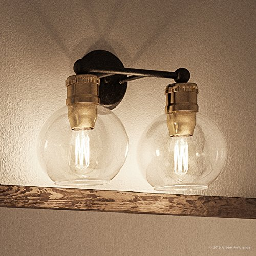 Luxury Vintage Bathroom Vanity Light, Medium Size: 10.875