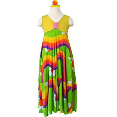c36636fde Amazon.com  TwirlyGirl Long Dresses for Girls Pretty Maxi Dress ...