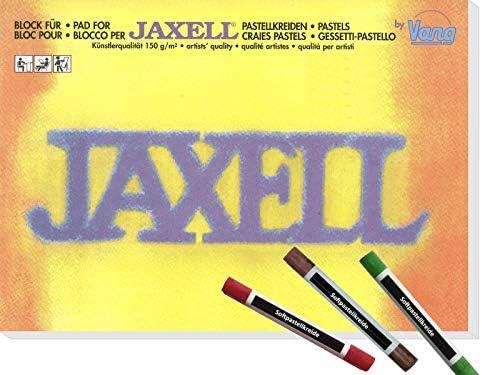 CSB-Center & Vang Jaxell - Block für Pastellkreide in Künstlerqualität inkl. 3 Softpastellkreiden - DIN A3 (29,7 x 42 cm) 150g/m² - 30 Blatt