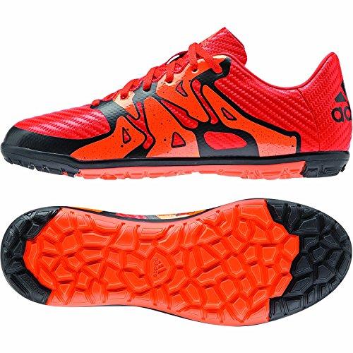 adidas X 15.3 TF J - Botas Para Niño Naranja / Negro / Rojo / Blanco