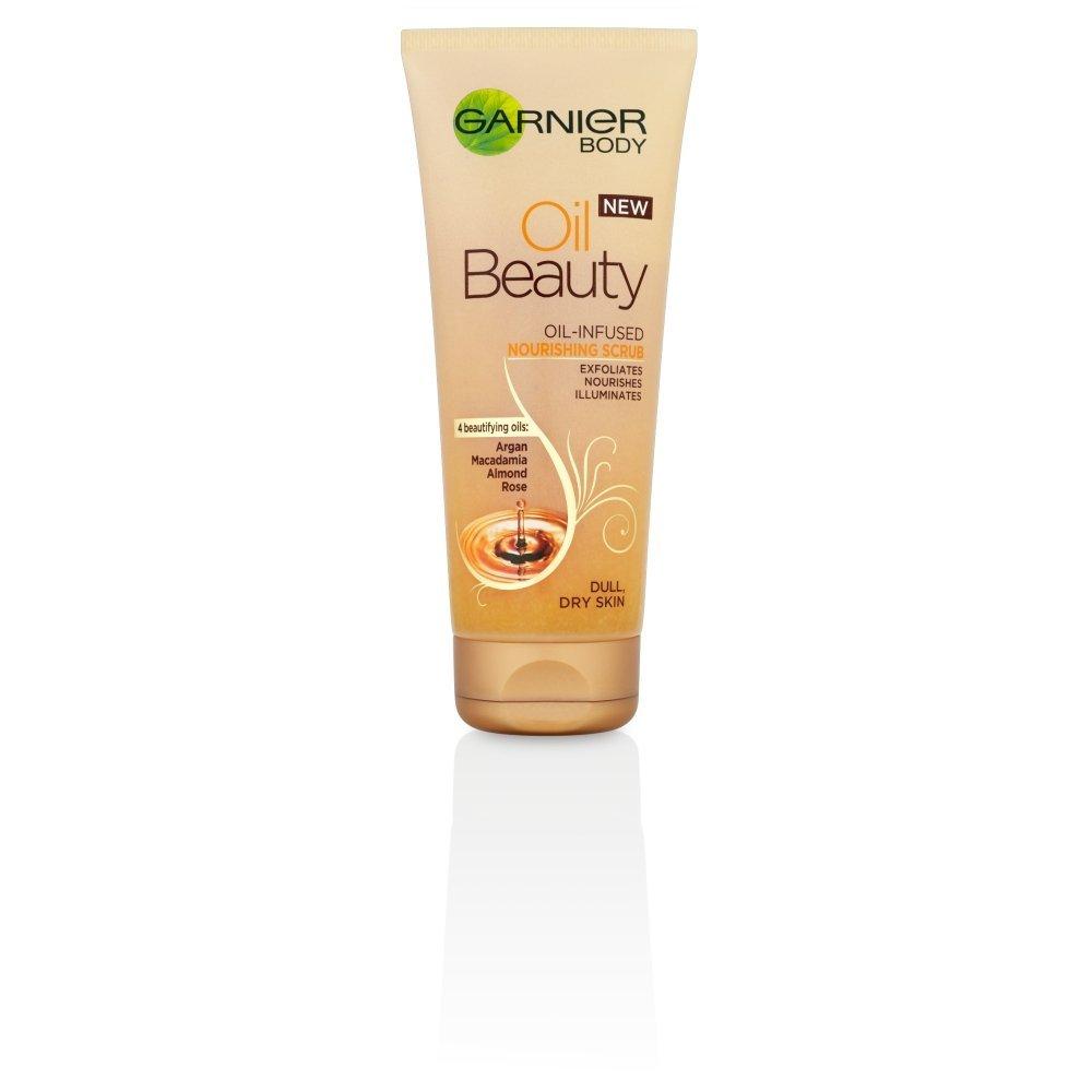 L'Oreal Garnier - Scrub corpo nutriente per pelli secche e spente, 200 ml L' Oreal UK 3600541506077