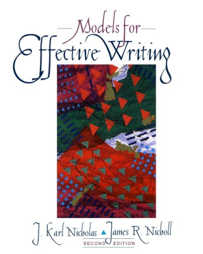 Models for Effective Writing (2nd Edition)