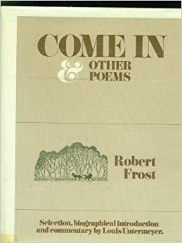 Friendship and phrase: the letters of Robert Frost