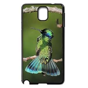 Diy Hummingbird Phone Case for samsung galaxy note 3 Black Shell Phone JFLIFE(TM) [Pattern-2]