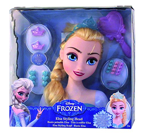 Disney IMC Toys Frozen Elsa Styling Head (Multi-Colour) (Frozen Elsa Head)