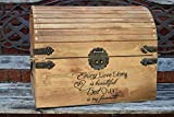 Every Love Story is Beautiful But Ours is my Favorite – Wedding Card Box – Wedding Card Holder – Rustic Wedding Decor – Keepsake Box Review