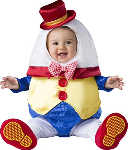 Dumpty Costume Humpty (Fun World Baby Humpty Dumpty, Multi,)