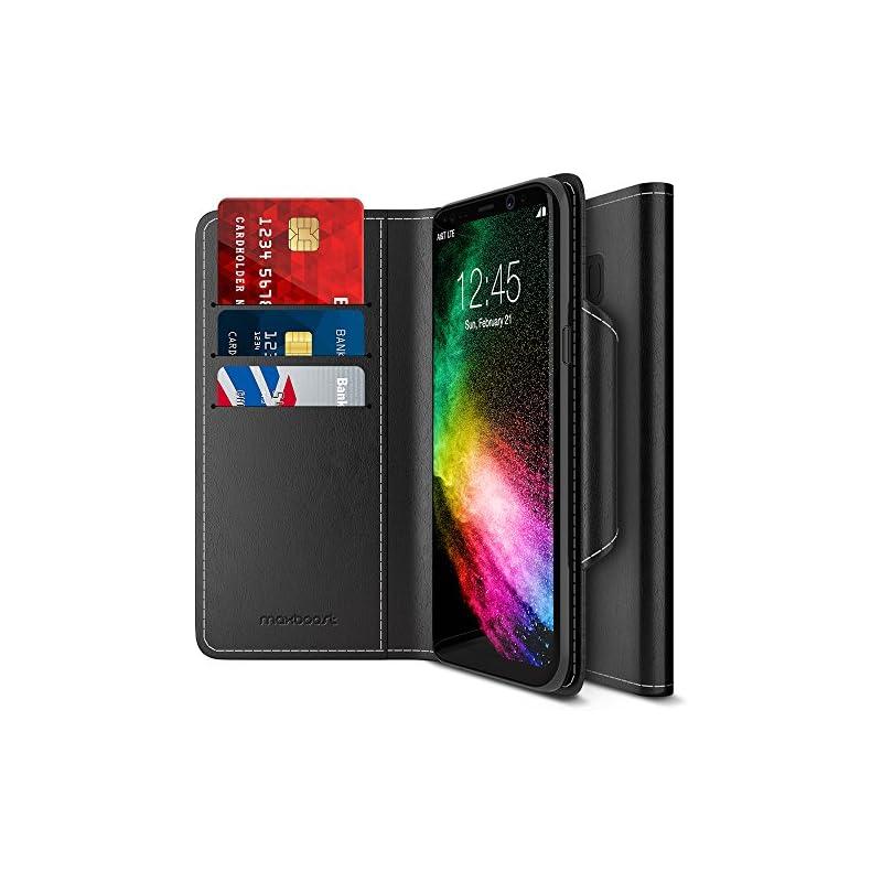 Maxboost Galaxy S8 Wallet Case [Folio St