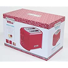 Kitchen Selectives Cool-Touch 2 Slice Toaster (Red) by Kitchen Selectives