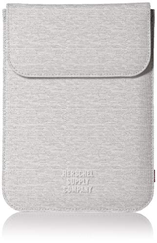Herschel Supply Co. Men's Spokane Sleeve for iPad Mini, light grey crosshatch, One Size