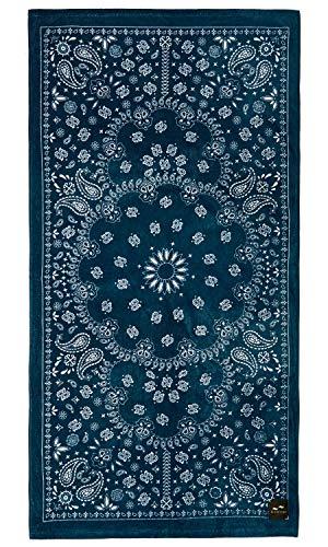 Slowtide - Paisley Park Beach Towel | 100% Cotton Velour - Hanging Loop - 60 x 30 Inches (Paisley Beach Towel)