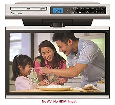 Venturer Undercabinet Kitchen LCD TV/DVD Combo (No HDMI/No AV Input)