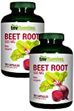 TNVitamins Beet Root 500 Mg -2×100 Capsules For Sale